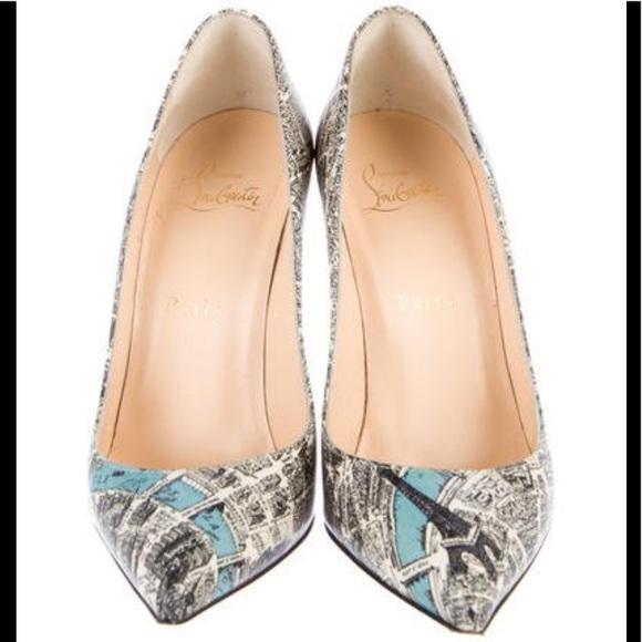 259197eee Christian Louboutin Shoes   Paris Map Louboutin Pigalle   Poshmark